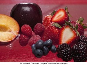 Berries -- Fruit Assortment -- Zinc & Magnese -- 7.17.13