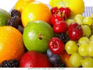 Eat All Of Your Colors -- Oranges, Apples, Berries -- Antioxidants -- 7.17.13