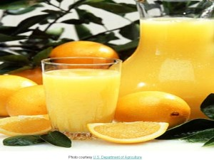 Oranges & Orange Juice -- Vitamin C -- 7.17.13