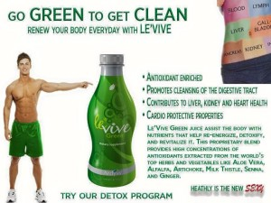 Ardyss Green Levive -  Go Green - Renew Your Body - 5.20 .15