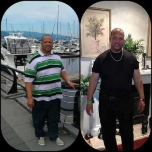 Weight Loss -- Before & After